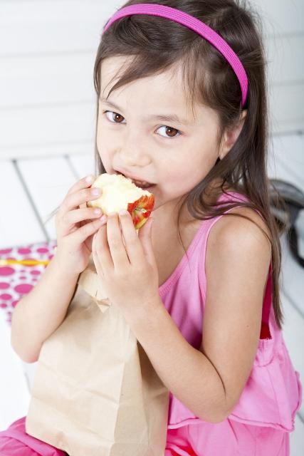 Child and Sandwich