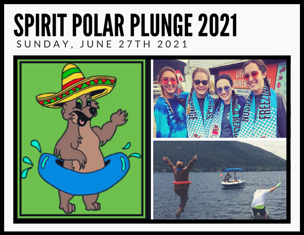 Spirit Polar Plunge 2021 – Sunday June 27