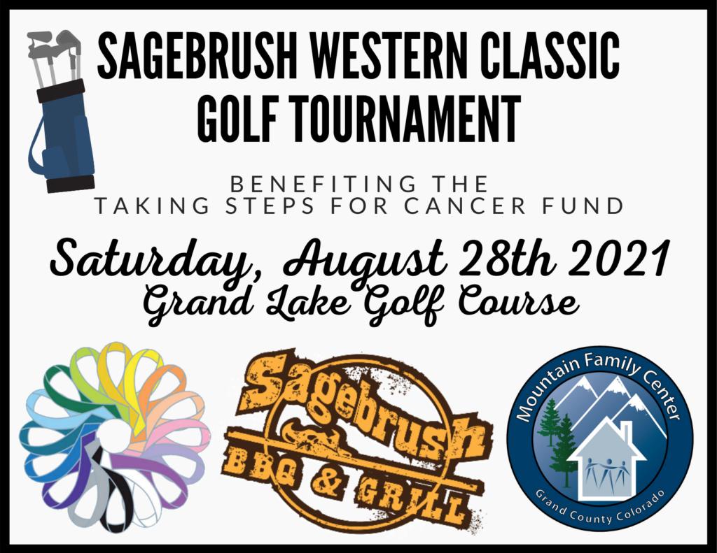 Sagebrush Western Classic Golf Tournament: Sunday, August 28, 2021 at Grand Lake Golf Course
