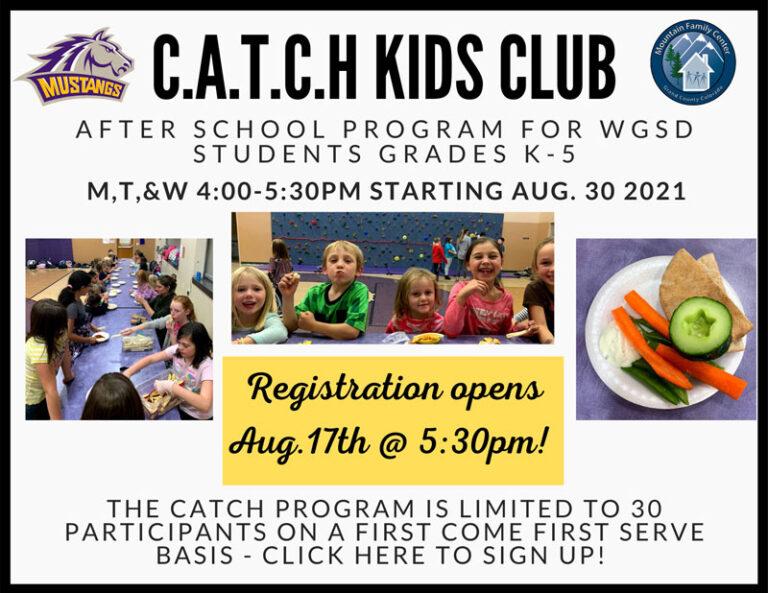 CATCH Kids Club 2021